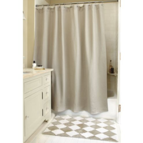 Grommeted Shower Curtain