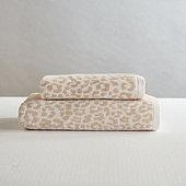 Leupart Leopard Designer Bath Towel