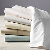 Ballard Classic Egyptian Percale Pillowcases - Stone