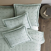 Halle Pickstitch Quilted Bedding