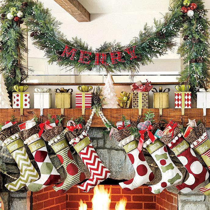 Christmas Stocking.Ballard Personalized Christmas Stockings