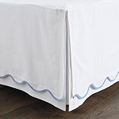 Emma Scalloped Bedskirt