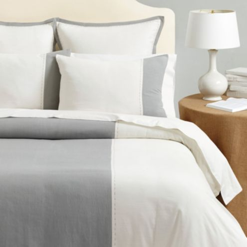 Addison Stitched Colorblock Bedding