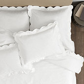 Emma Scalloped Bedding