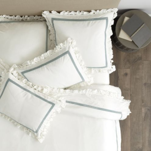 Leura Ruffled Flange Bedding