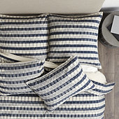 Natalya Ikat Stripe Bedding