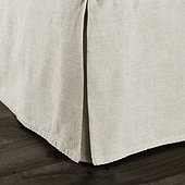 Brooke Washed Linen Bedskirt