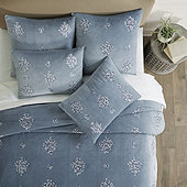 Cecilia Crewel Embroidered Bedding