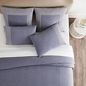 Bondi Chambray Embroidered Bedding