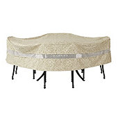 Outdoor Round Table & Chairs Cover - 108 inch