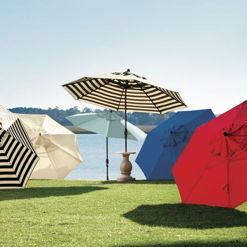 11 Foot Auto Tilt Umbrella
