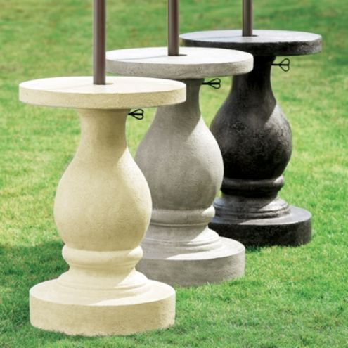 Baluster Patio Umbrella Stand