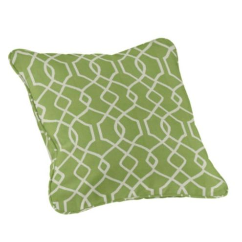 Ballard Design Pillows outdoor piped throw pillow - 20 inch square | ballard designs
