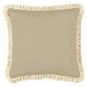 Fringed Pillow -16 inch square