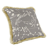 Fringed Pillow - 20 inch square - Select Colors