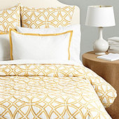 Delphine Geometric Quilted Bedding