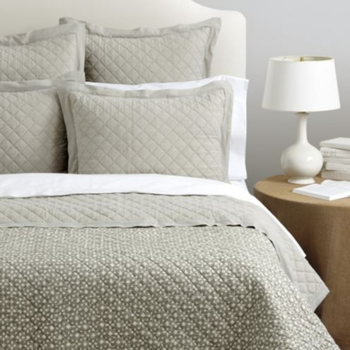 Leighton Chambray Bedding