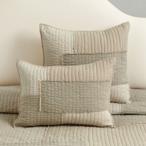 Camila Patchwork Quilted Sham
