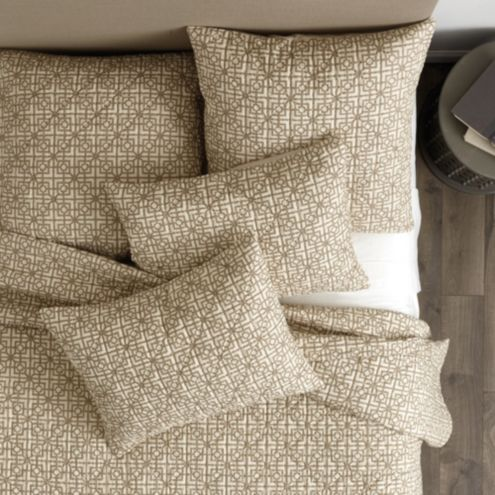 Lockley Quilted Trellis Bedding