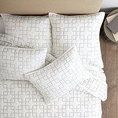 Geometric Stitched Quilt
