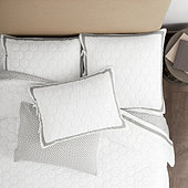 Kelsey Honeycomb Quilted Bedding