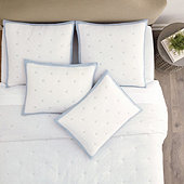Bardot Dot Stitched Quilted Bedding