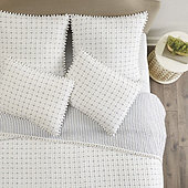 Georgie Pom Pom Quilted Bedding