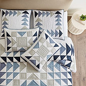 Westport Patchwork Quilted Bedding