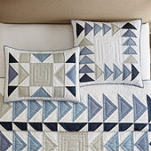 Westport Patchwork Quilted Sham
