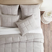 Evers Linen Quilted Bedding