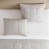 Evers Linen Quilted Sham