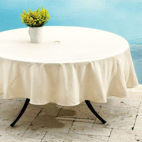 Ballard Indoor Outdoor Round Tablecloth Ballard Designs