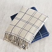 Highlands Windowpane Throw