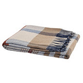 Payton Italian Lambswool Plaid Throw