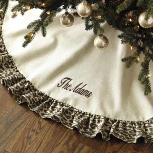French Ruffle Tree Skirt