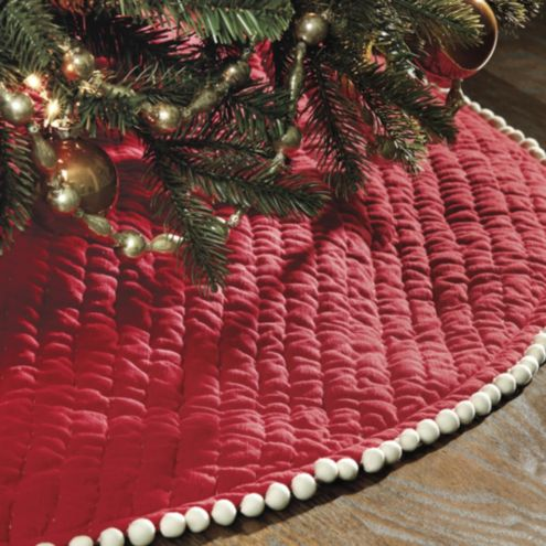 Audree Pom Pom Tree Skirt