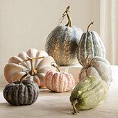 Faux Autumn Gourd