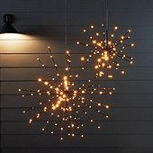 LED Flashing Hanging Starburst