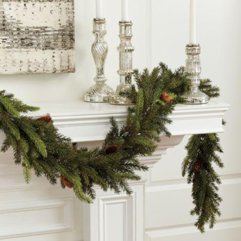Angel Pine Garland Holiday Accessories Ballard Designs