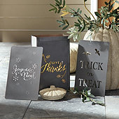 Outdoor Luminarias