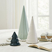 Winter Ceramic Trees
