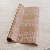 Gingerbread Lane Gift Wrap