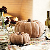 Weathered Terra Cotta Pumpkins