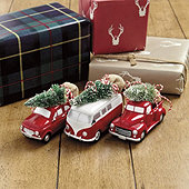 Vintage Car Ornaments - Set of 3