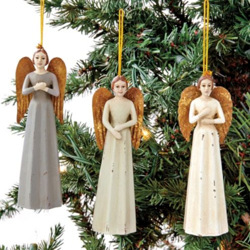 Santos Ornaments - Set of 3