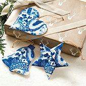 Charlotte Ornaments - Set of 3