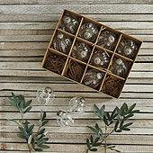 Heidi Glass Ornaments - Set of 12