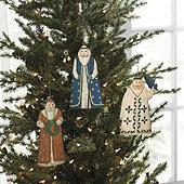 Papa Noel Ornaments
