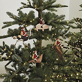 Santa and Friends Ornaments