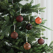 Desert Glass Ornaments - Set of 6